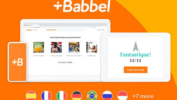 Babbel Best Language Learning App for Adults
